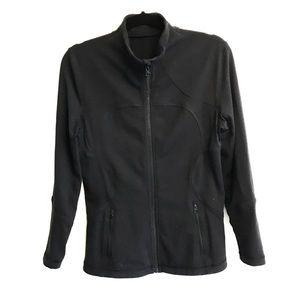 LULULEMON Full Zip Mock Neck Jacket  Black Luon 10